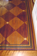 Classic Faux Floor Design and  Applications